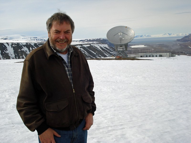 Paul Sutherland at EISCAT