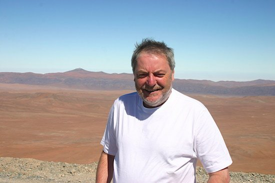 Paul Sutherland at E-ELT site