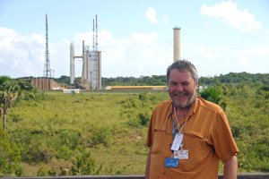 Paul Sutherland at Kourou