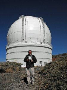 Paul Sutherland on La Palma